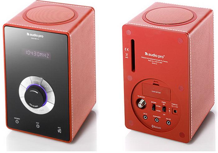 Audio Pro - Radio One - RED