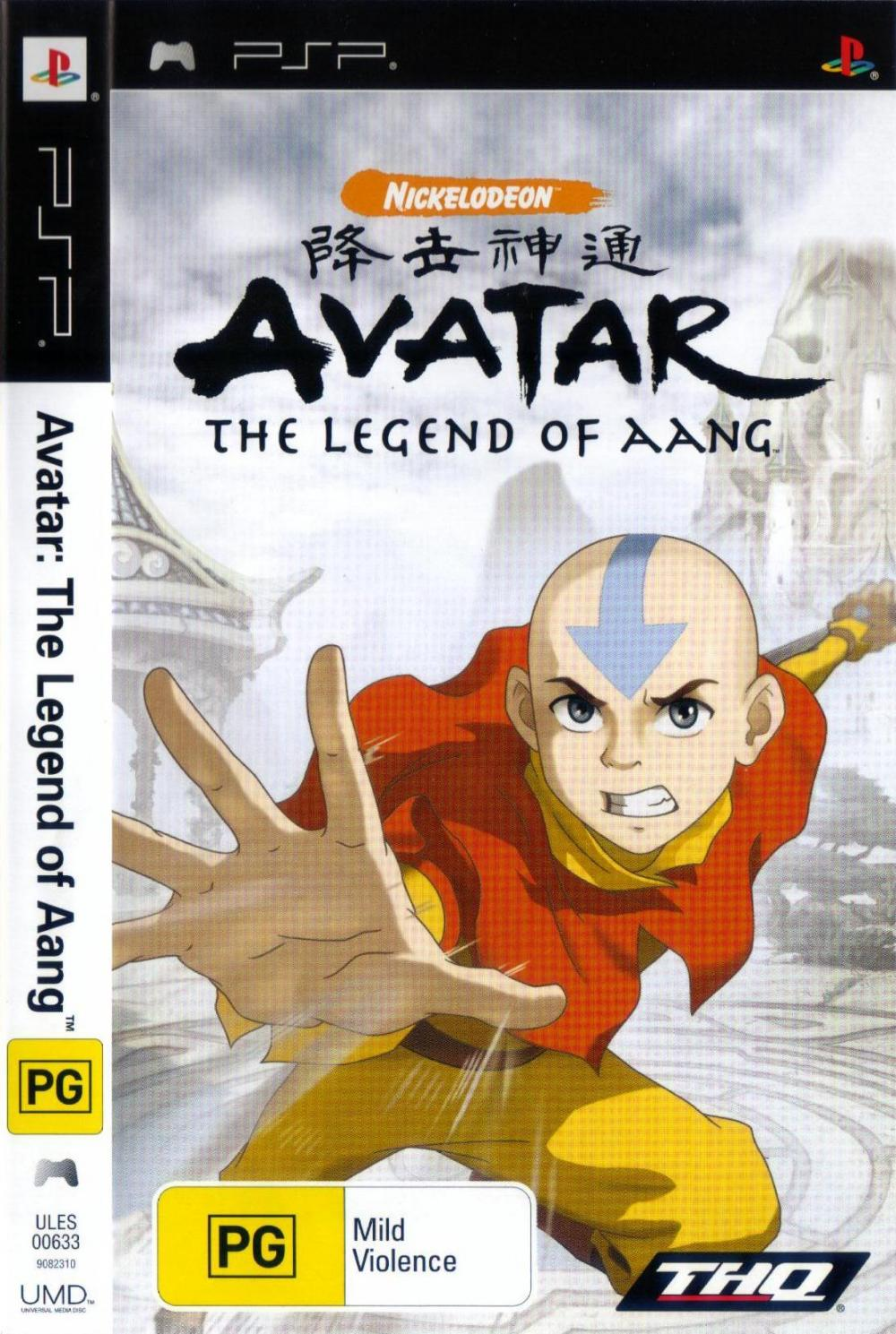 AVATAR - THE LEGEND OF PSP