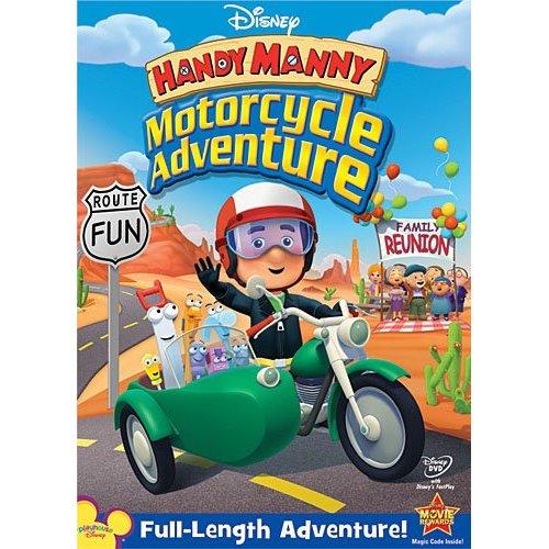 AVENTURA PE MOTOCICLETA HANDY MANNY: MOTOCYCLE