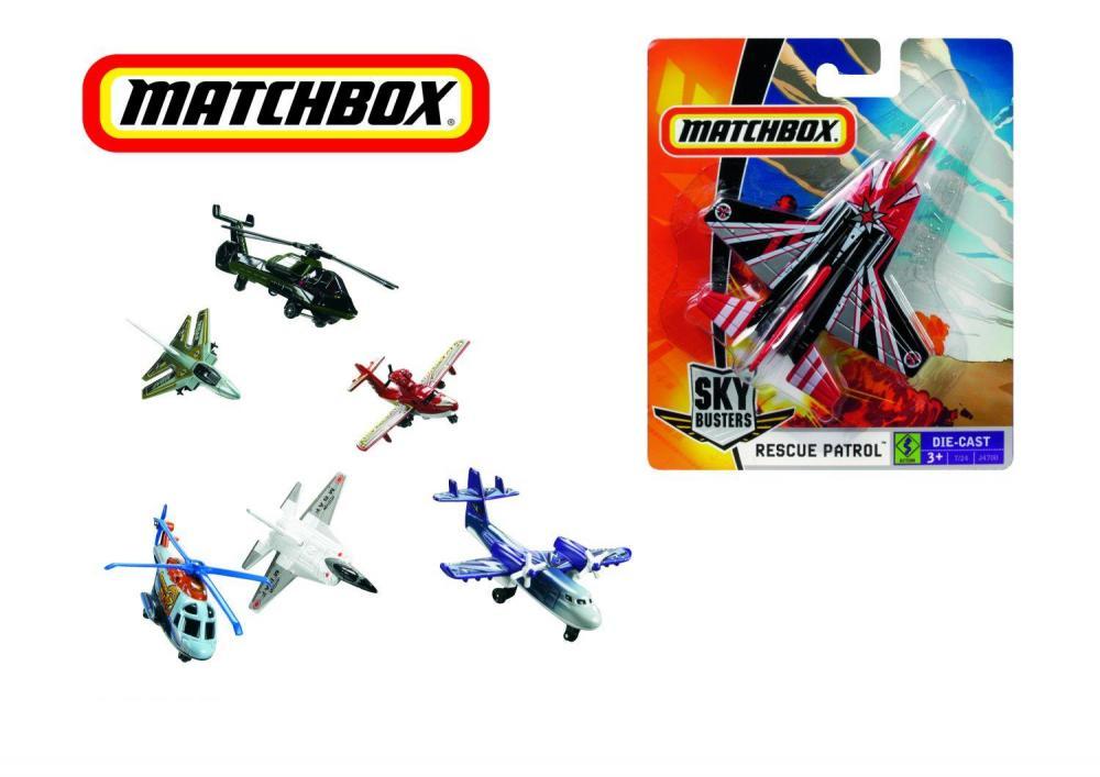 Avion Matchbox, diverse modele