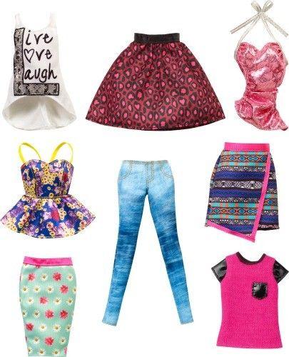 Barbie-accesorii tinuta casual,div.modele