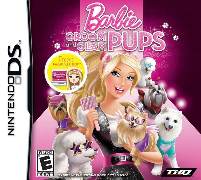 BARBIE: GROOM AND GLAM DS