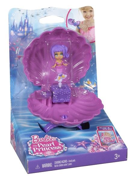 Barbie printesa perlelor figurine in scoici
