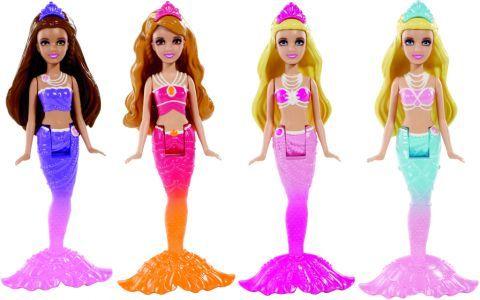 Barbie printesa perlelor mini papusi