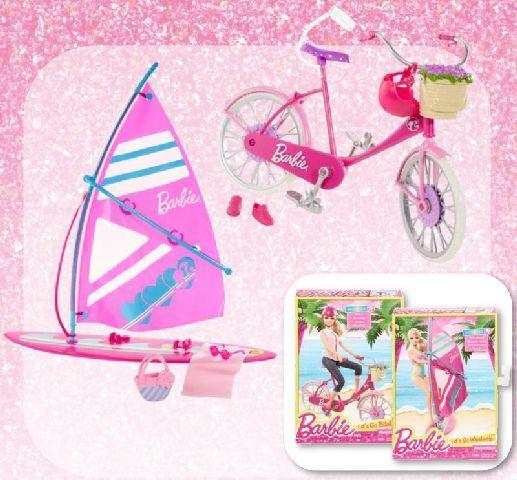 Barbie-vehicule pentru vacanta