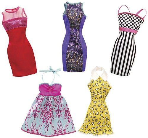 Barbie,rochii fabuloase,div. modele