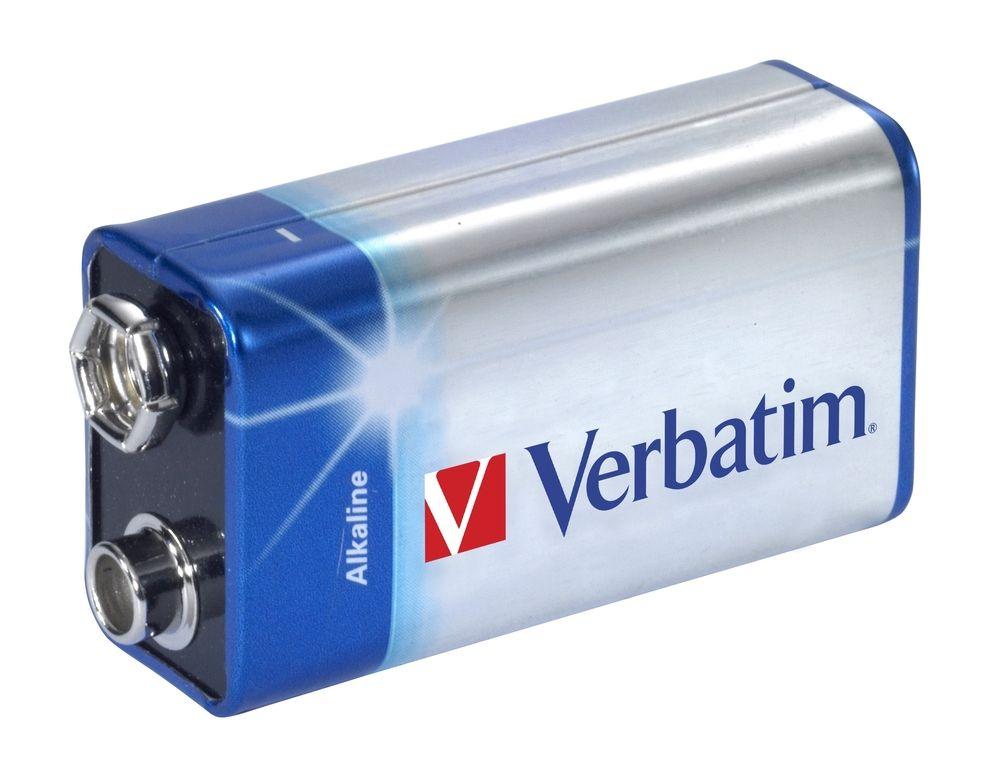 Bateire alcalina Verbatim 9V 1...