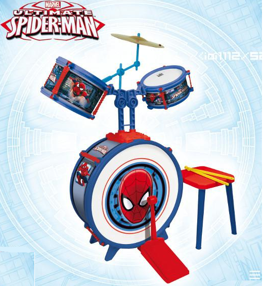 Baterie 3 elemente, Spiderman