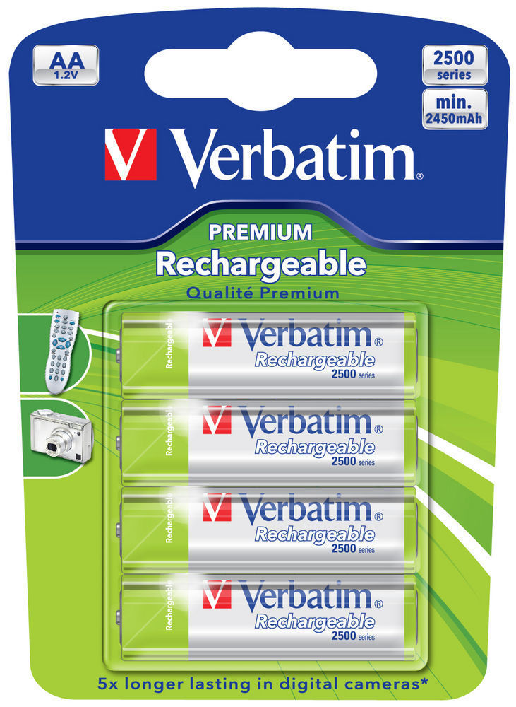 Baterie reincarcabila Verbatim AA 4 buc