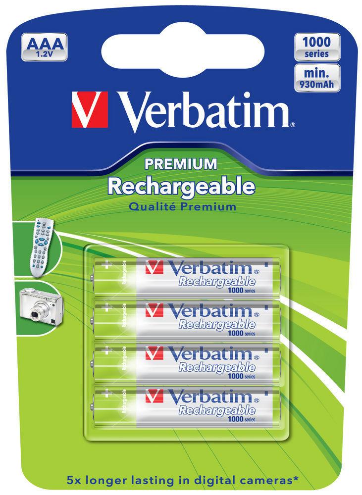 Baterie reincarcabila Verbatim AAA 4 buc