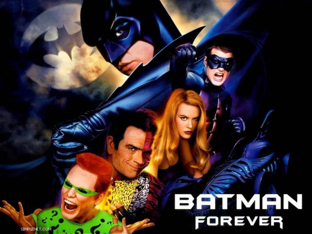 BATMAN FOREVER BATMAN FOREVER
