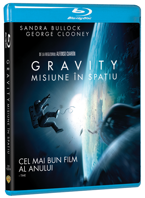 BD: GRAVITY: MISIUNE  IN SPATIU