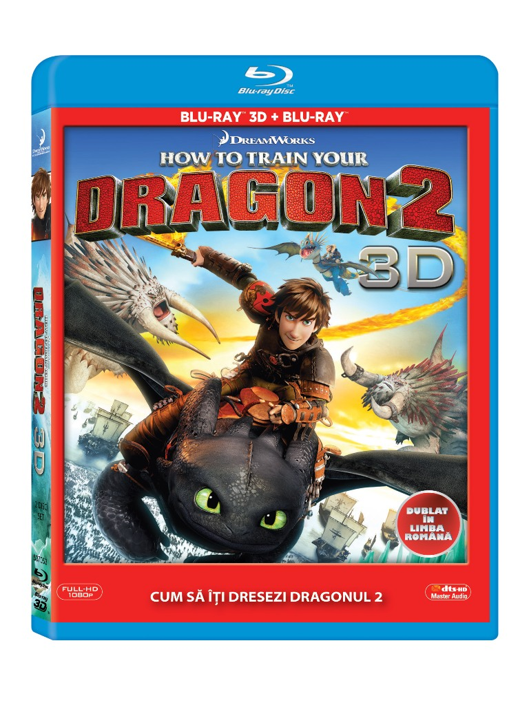 BD: HOW TO TRAIN YOUR DRAGON 2 Combo 3D+2D
