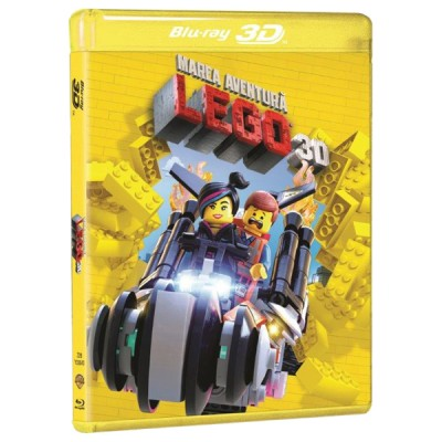 BD: THE LEGO MOVIE - MAREA AVENTURA 3D