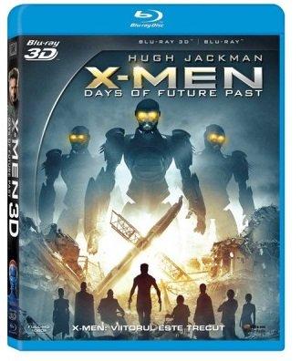 BD: X-MEN: DAYS OF FUTURE PAST COMBO (3D+2D) - X-MEN: VIITORUL ESTE TRECUT COMBO (3D+2D)