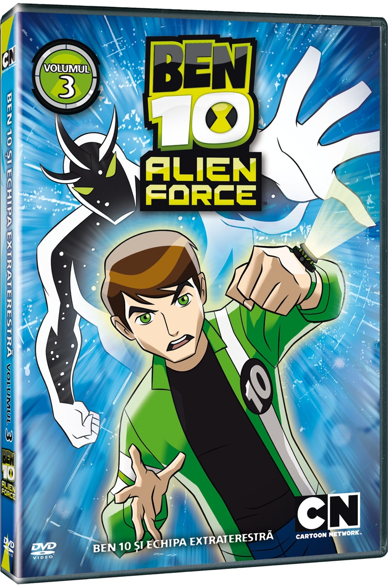 BEN 10 Alien Force Vol 3