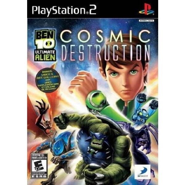 BEN 10 COSMIC DESTRUCTI PS2