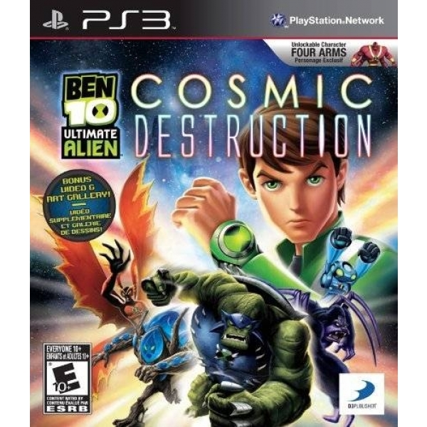 BEN 10 COSMIC DESTRUCTI PS3