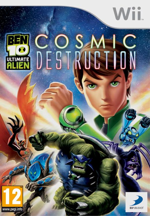 BEN 10 ULTIMATE COSMIC DESTRUCTION - WII
