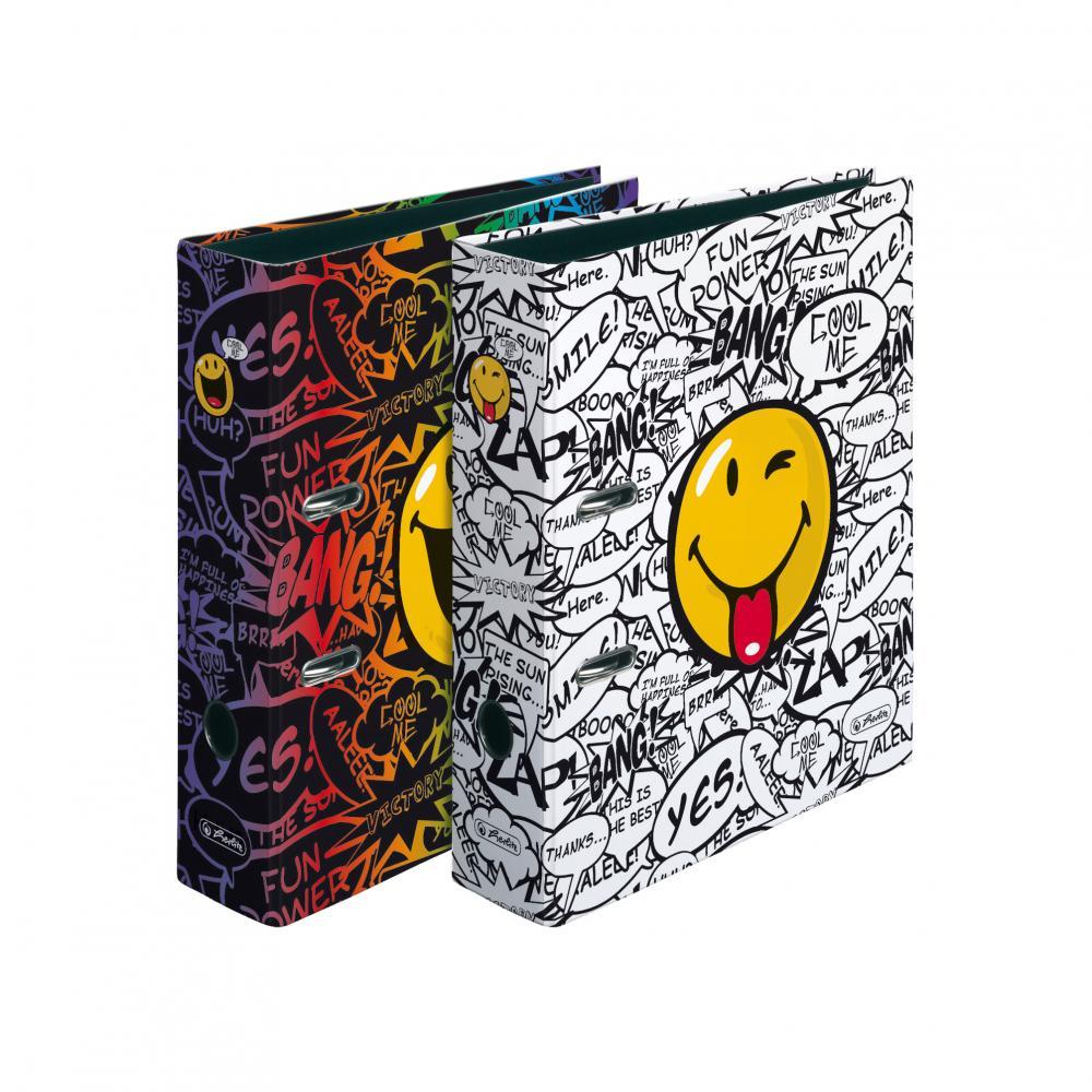 Biblioraft A4 ,8cm,SmileyWorld Scirbble