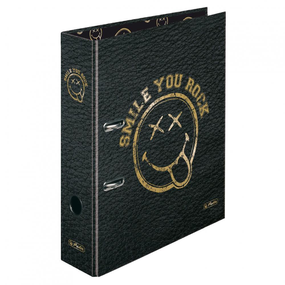 Biblioraft A4 ,8cm,SmileyWorldGoldenRock