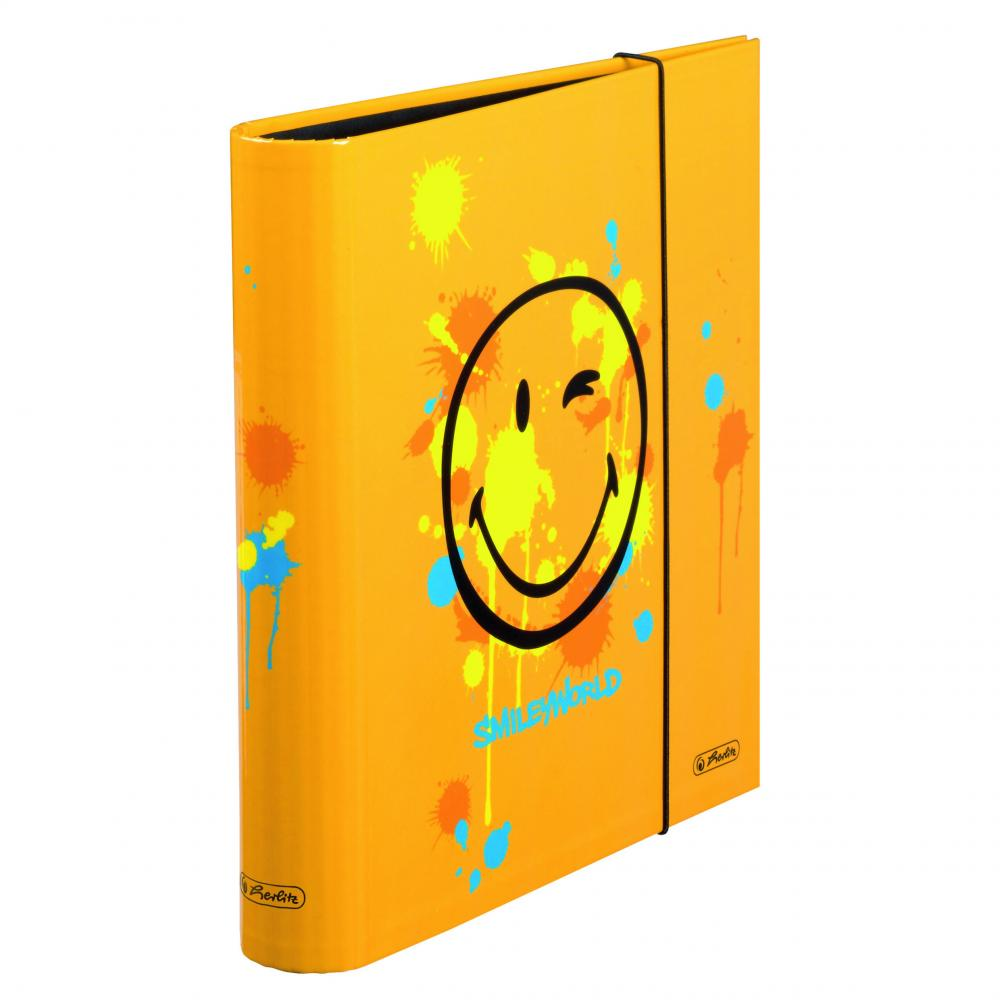Biblioraft A4,5 cm,SmileyWorld Orange