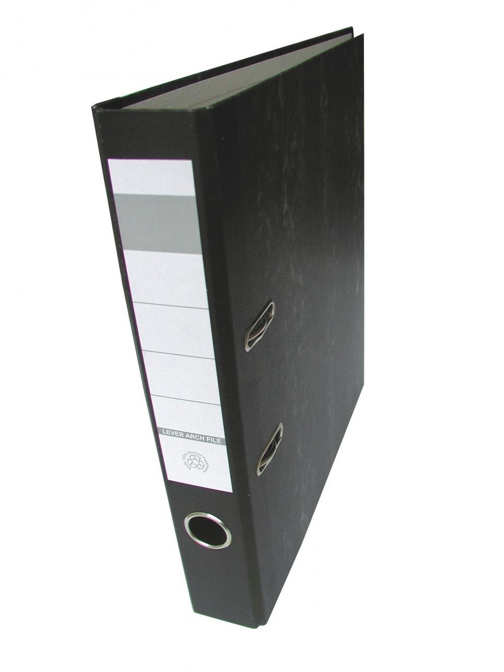 Biblioraft Herlitz, marmorat, A4, 50mm