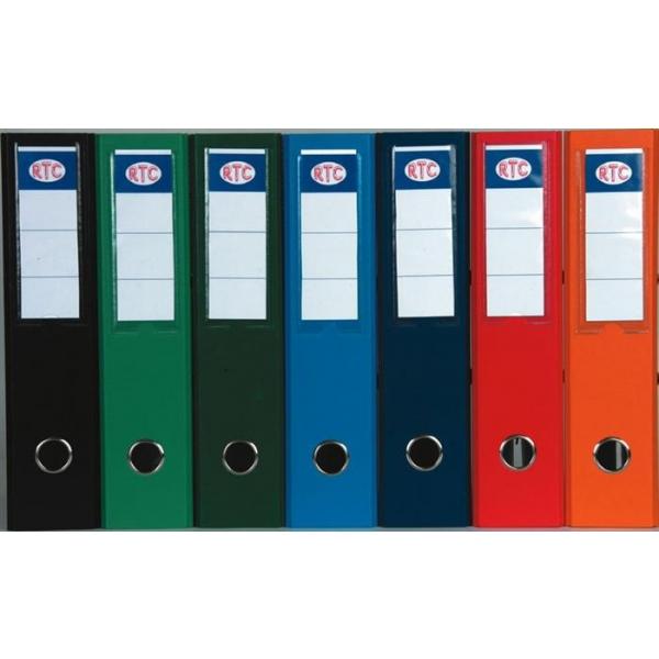 Biblioraft RTC Lux Plus, 318 x 285 mm, 70 mm, negru