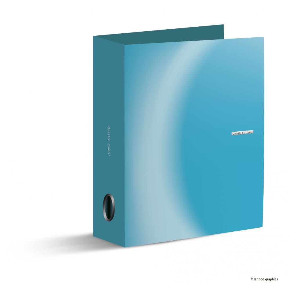 zzBiblioraft QuattroColori,5 cm,albastru