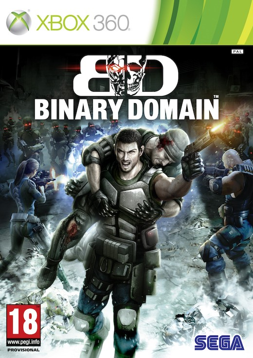 BINARY DOMAIN LTD. SPECIAL EDITION XBOX
