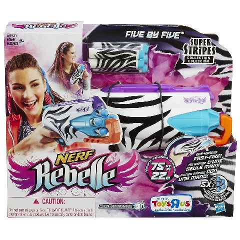 Blaster Nerf Rebelle Five by Five