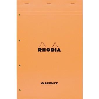 zzBlocnotes A4,Rhodia orange,80f,velin