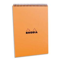 zzBlocnotes A5,Rhodia orange,80f,velin