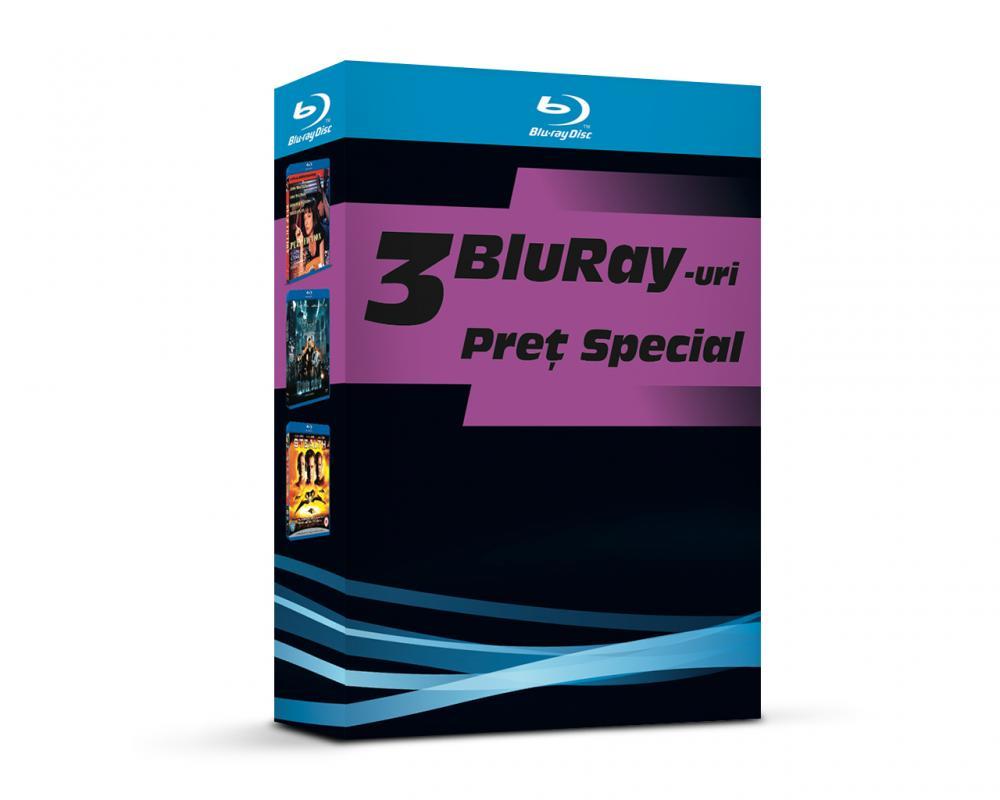 BOX 5 BD: PULP FICTION, IRON SKY, STEALTH