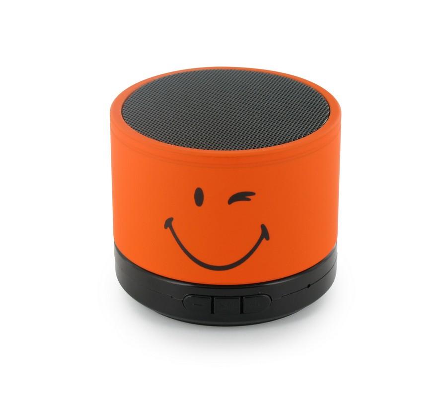 Boxa portabila Smiley World,portocaliu