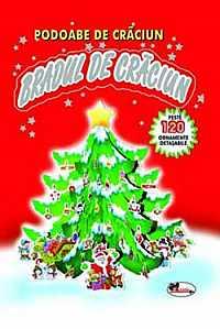 BRADUL DE CRACIUN (PODOABE DE CRACIUN, 120 ORNAMENTE DETASABILE)