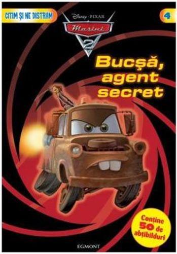 BUCSA, AGENT SECRET CARTE CU ABTIBILDURI