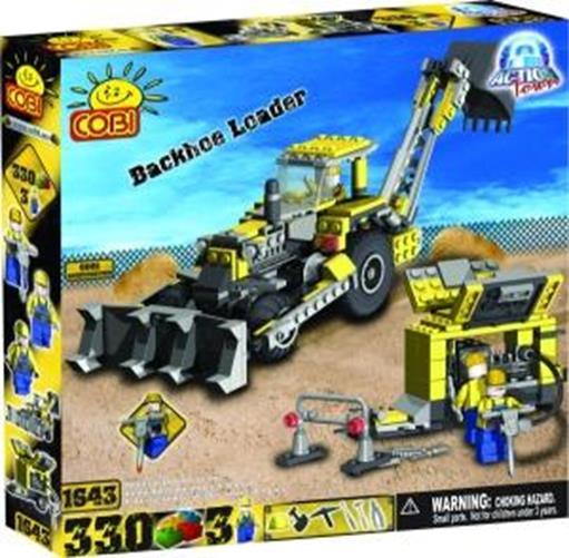zzBuldozer cu excavator, 330 pcs. Cobi