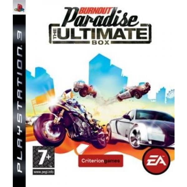 BURNOUT PARADISE THE UL PS3