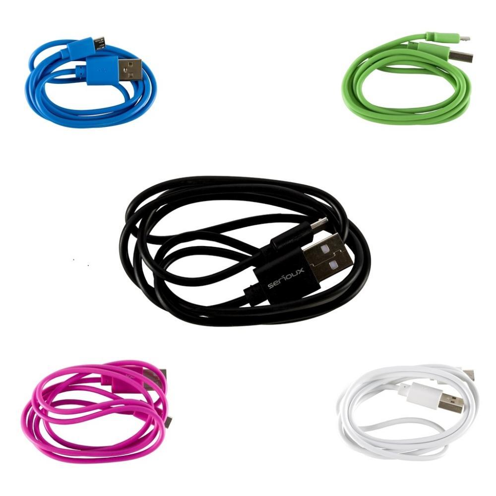 Cablu microUSB, 1m, diverse...