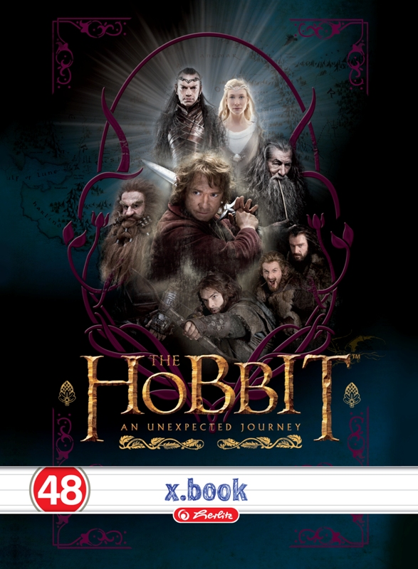 Caiet A4,48file,Hobbit,dictando