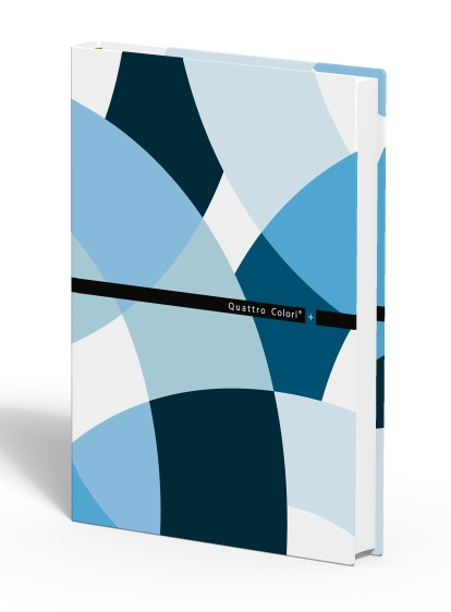 zzCaiet A6,80 file,QuattroColori+,bleu