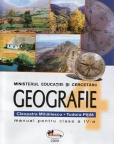 Caiet de geografie clasa a IV-a semestrul I + II