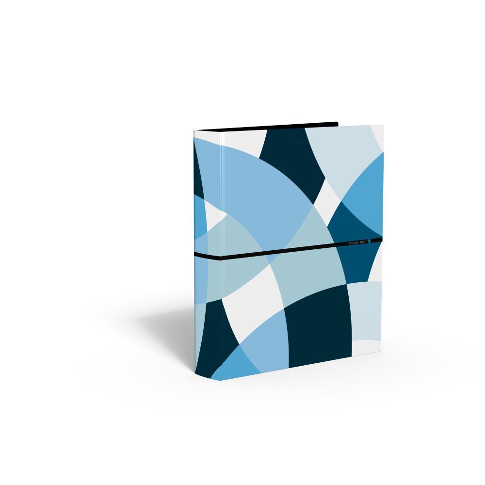 zzCaiet mec.,4 inele,QuattroColori+,bleu