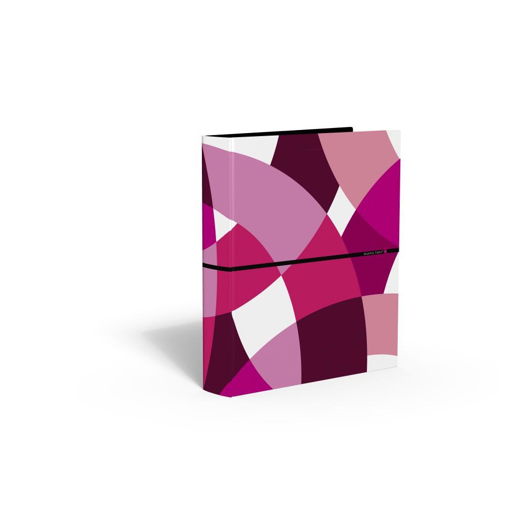 zzCaiet mec.,4 inele,QuattroColori+,rosu