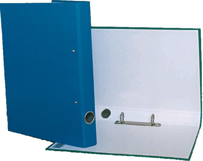 Caiet mecanic A4,25 m 2 inele, albastru