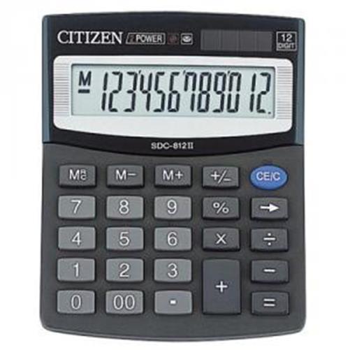Calculator de birou Citizen 12dig SDC-812B