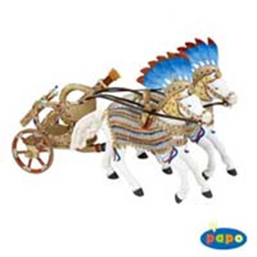 Caleasca egipteana cu cai