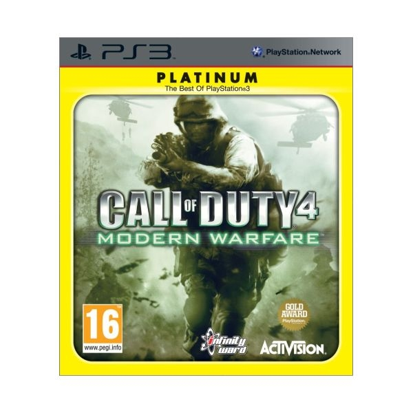 CALL OF DUTY 4: MODERN PLATINUM - PS3