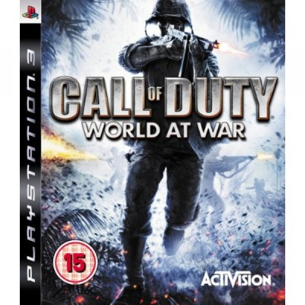 CALL OF DUTY 5 WORLD AT PS3